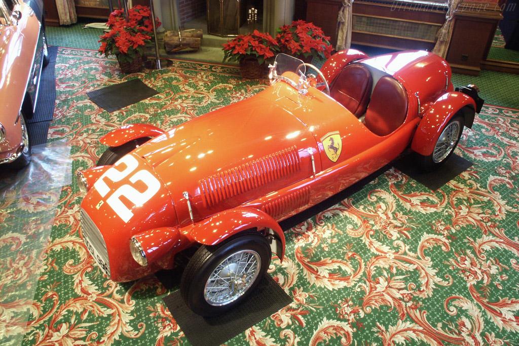 Ferrari 166 Spyder Corsa - Chassis: 002C  - 2002 Bonhams Gstaad Auction
