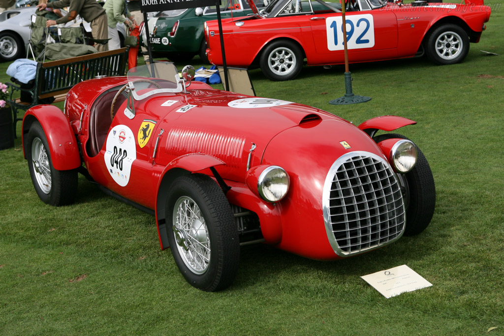 Ferrari 166 Spyder Corsa - Chassis: 002C   - 2006 The Quail, a Motorsports Gathering