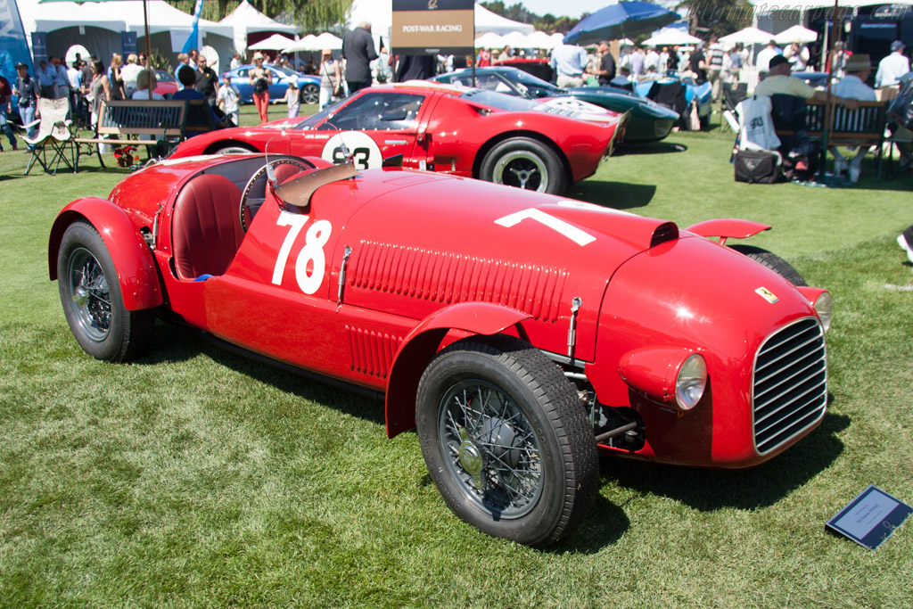 Ferrari 166 Spyder Corsa - Chassis: 002C   - 2012 The Quail, a Motorsports Gathering