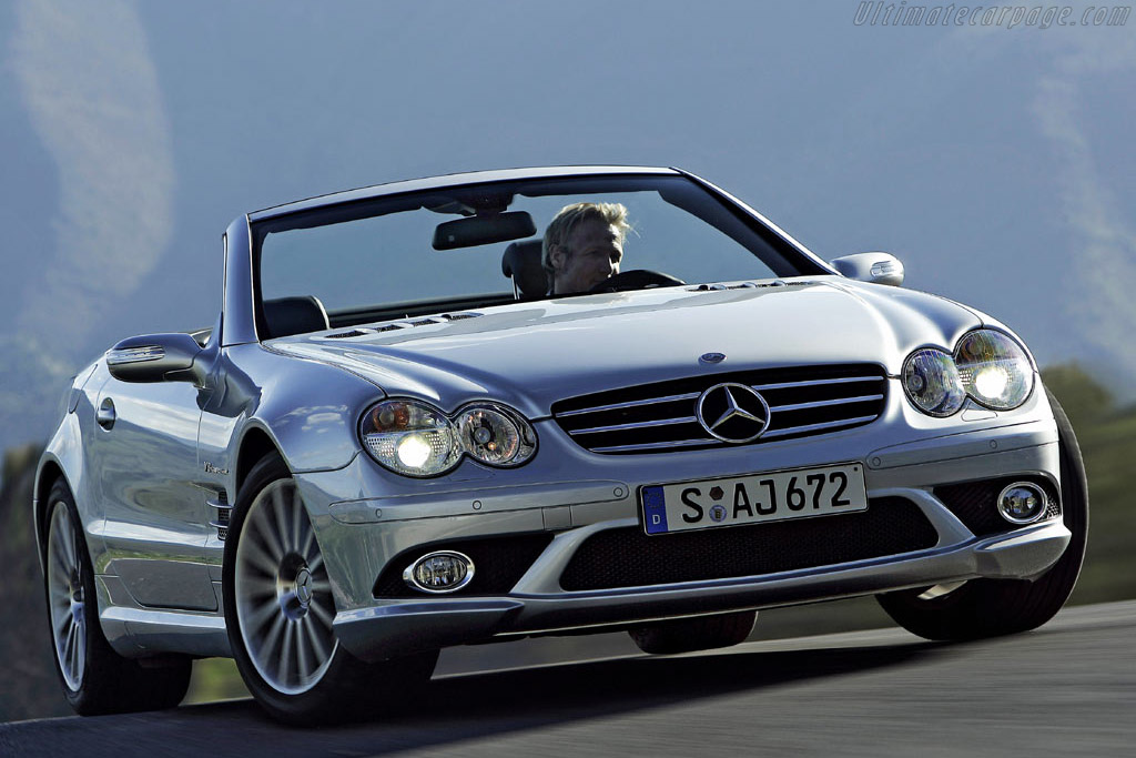Click here to open the Mercedes-Benz SL 55 AMG gallery