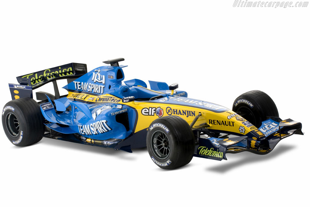2006 Renault R26 Images Specifications And Information