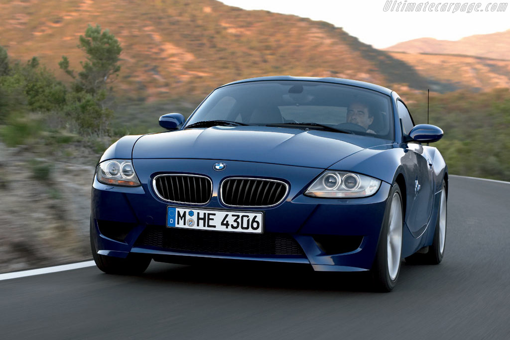 Click here to open the BMW Z4 M Coupe gallery