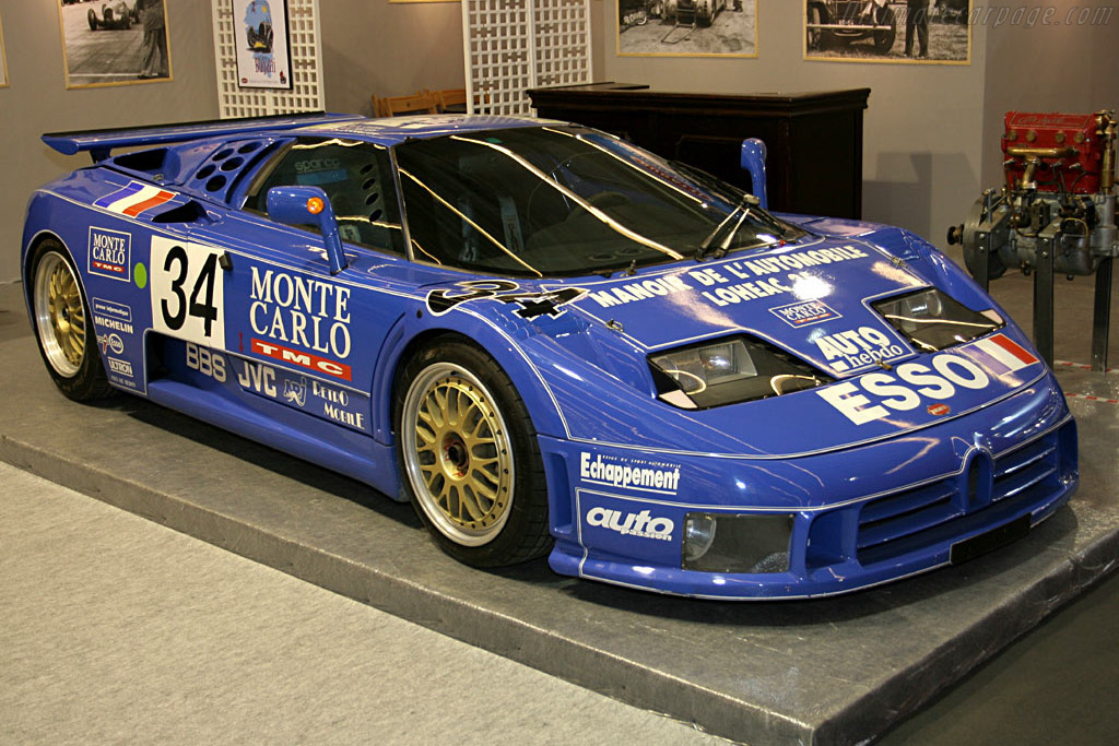1994 bugatti eb 110 ss le mans - images, specifications and information