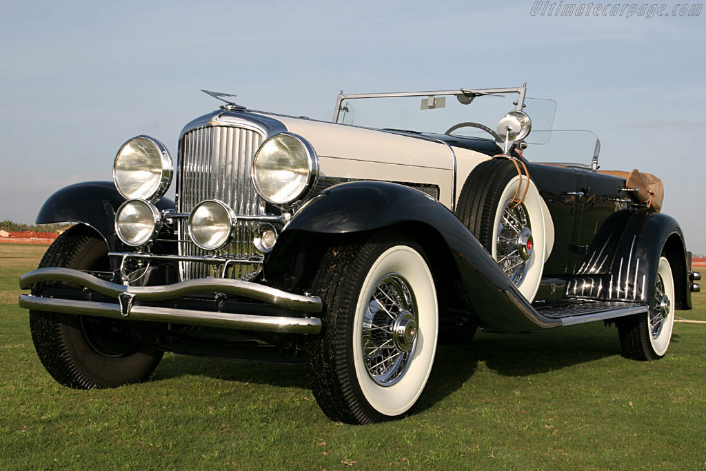 Click here to open the Duesenberg SJ LaGrande Dual Cowl Phaeton gallery