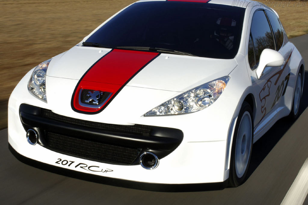 Click here to open the Peugeot 207 RCup gallery