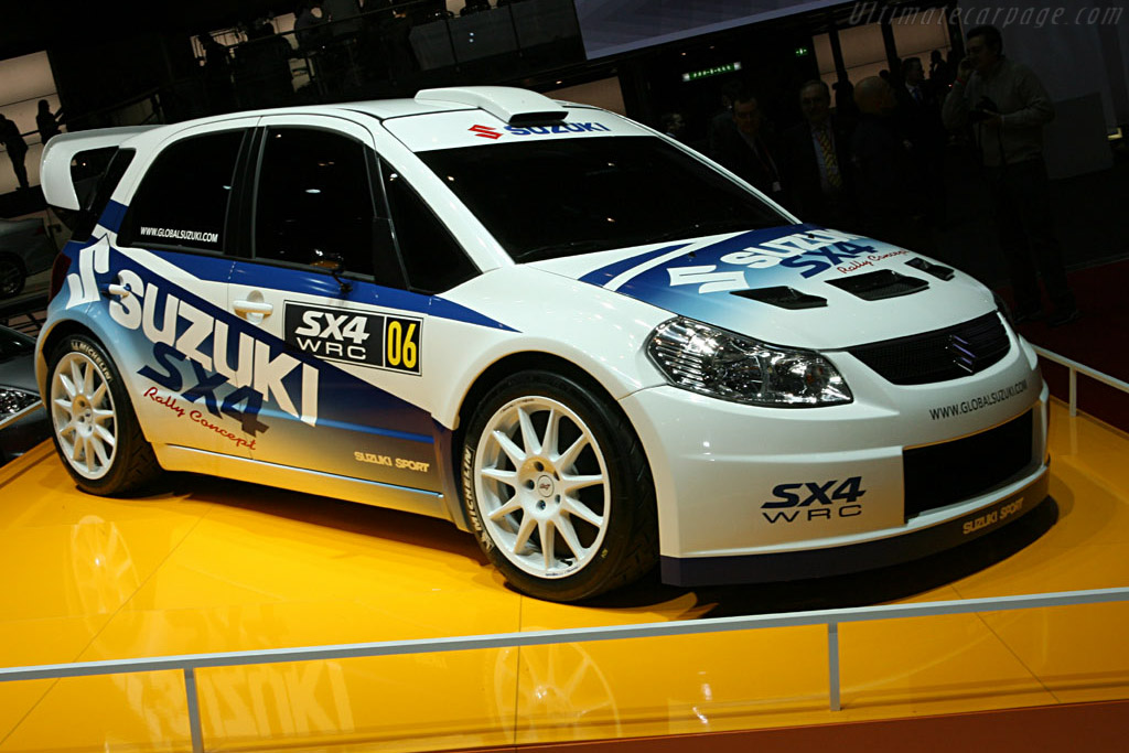 Click here to open the Suzuki SX4 WRC Concept gallery