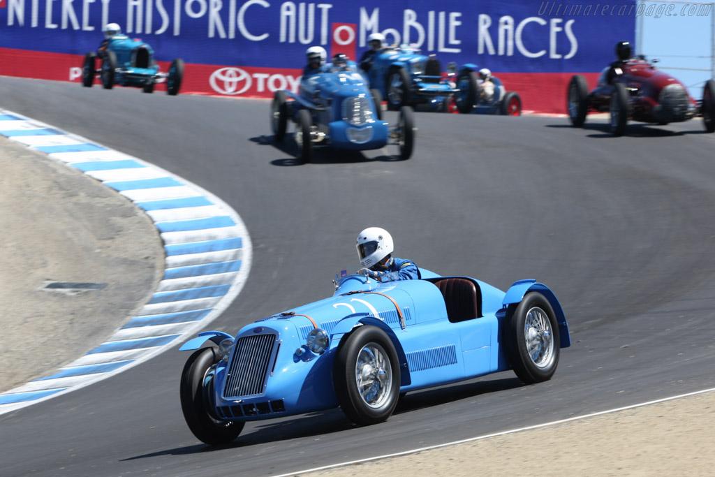 Delage D6-3L Grand Prix - Chassis: 880004   - 2007 Monterey Historic Automobile Races