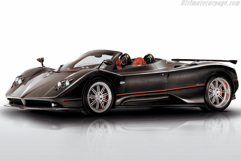 Click here to open the Pagani Zonda F Roadster gallery
