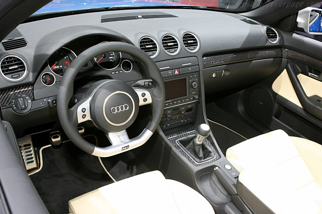 Audi RS 4 Cabriolet    - 2006 Geneva International Motor Show
