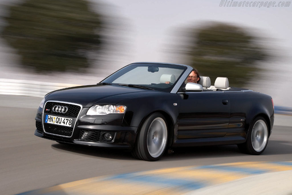 Click here to open the Audi RS 4 Cabriolet gallery
