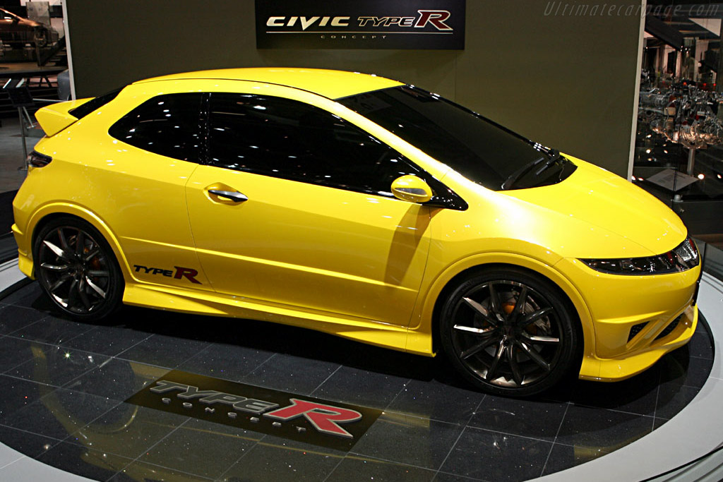2006 honda civic type r concept images specifications. Black Bedroom Furniture Sets. Home Design Ideas