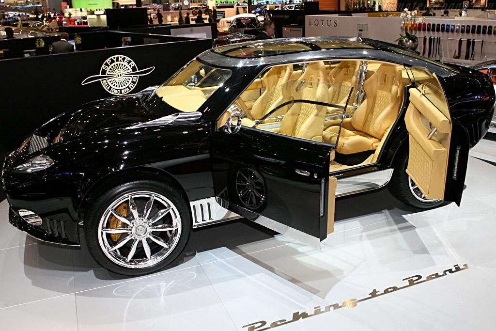 Spyker D12 Peking-to-Paris Concept    - 2006 Geneva International Motor Show