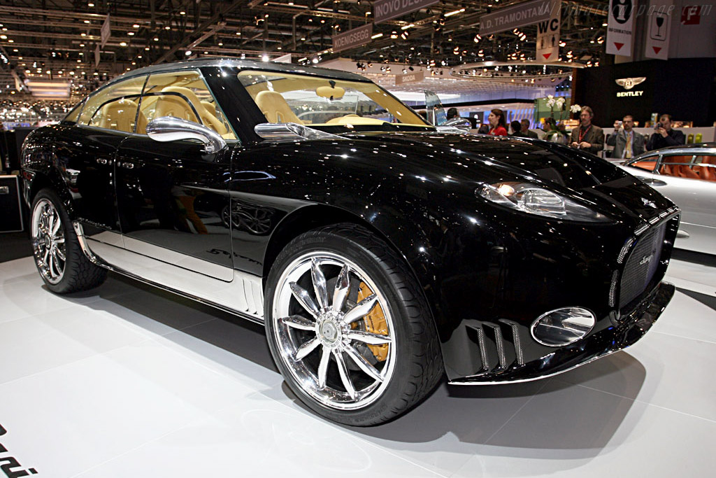 Spyker D12 Peking-to-Paris Concept    - 2006 Geneva International Motor Show
