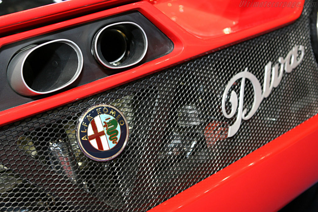 Alfa Romeo Diva Concept    - 2006 Geneva International Motor Show