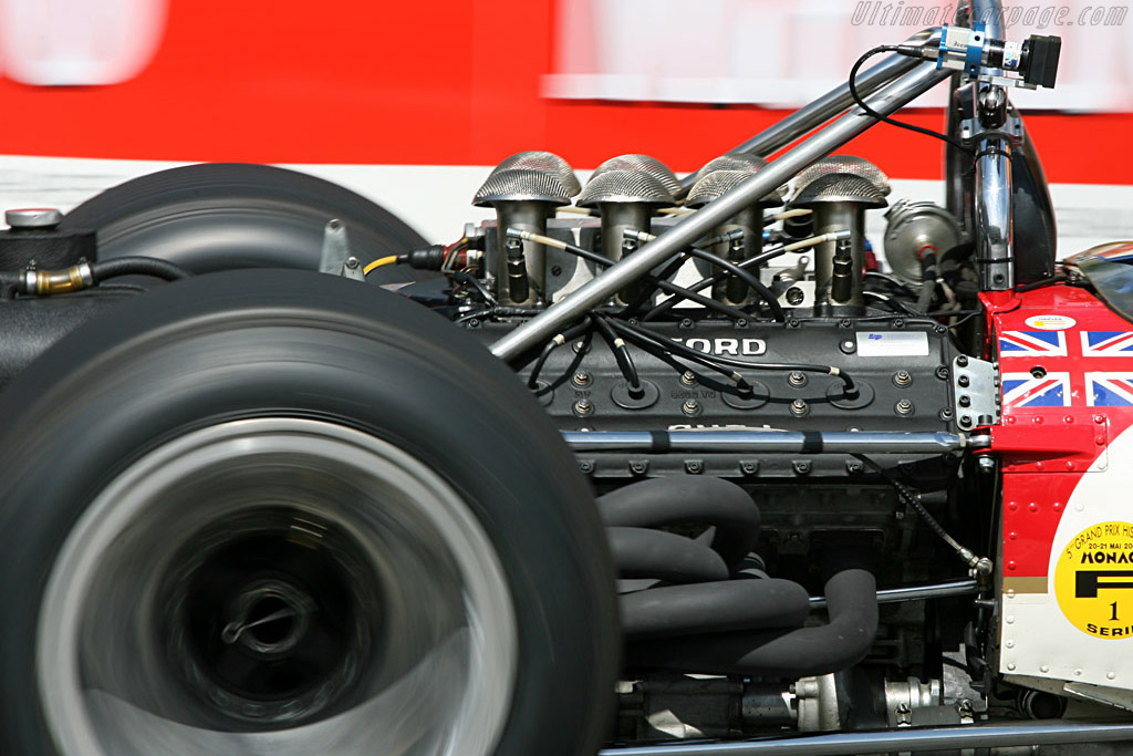 Lotus 49B Cosworth - Chassis: R10   - 2006 Monaco Historic Grand Prix