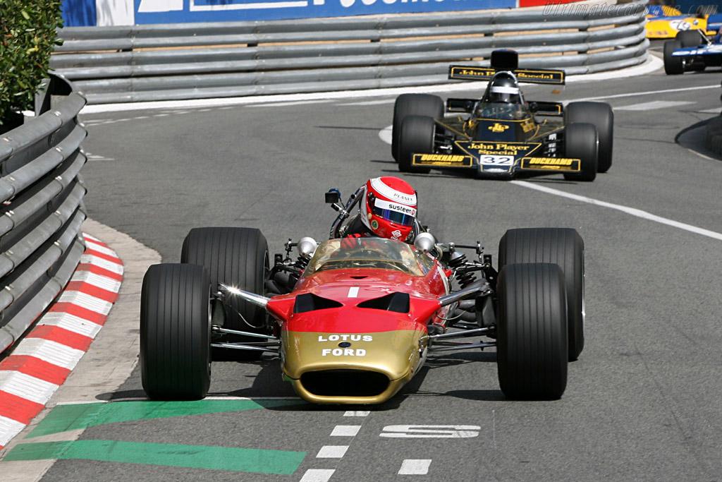 Lotus 49B Cosworth - Chassis: R10   - 2006 Monaco Historic Grand Prix
