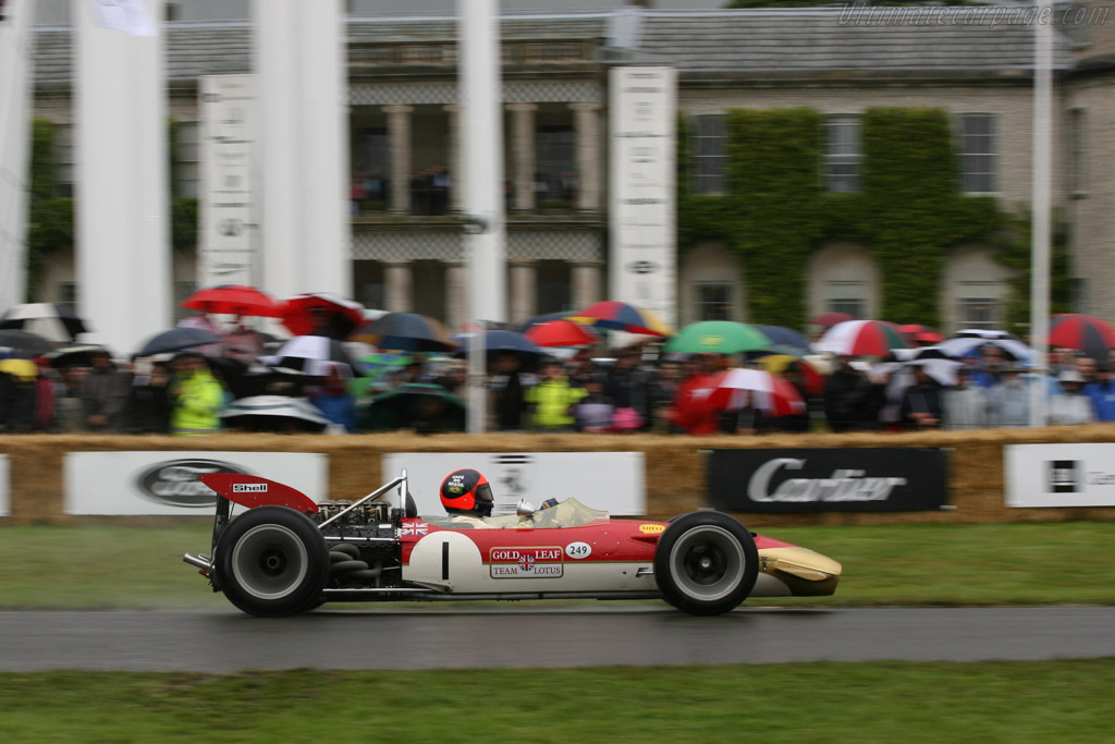 Lotus 49B Cosworth - Chassis: R10   - 2007 Goodwood Festival of Speed