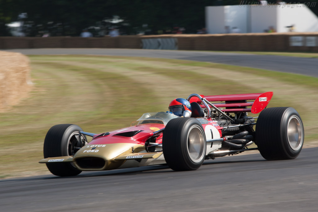 Lotus 49B Cosworth - Chassis: R10   - 2013 Goodwood Festival of Speed