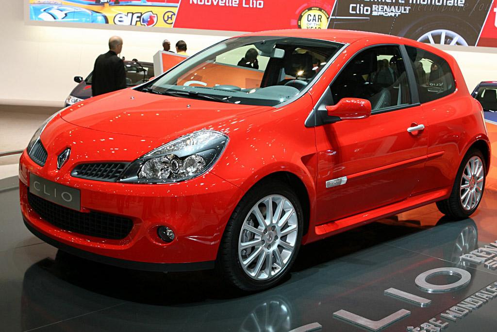Renault Clio Sport    - 2006 Geneva International Motor Show