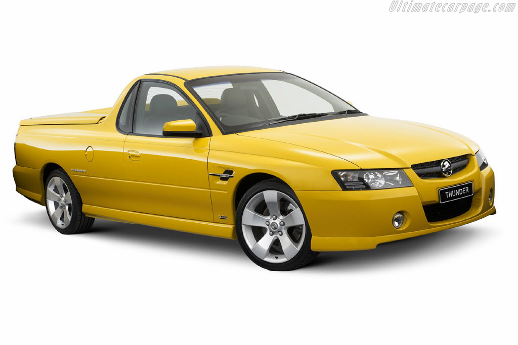Click here to open the Holden Thunder SS UTE gallery