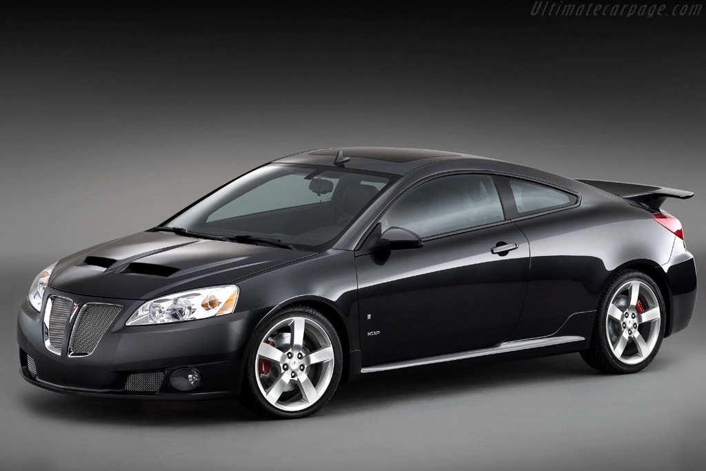 Click here to open the Pontiac G6 GXP Concept gallery