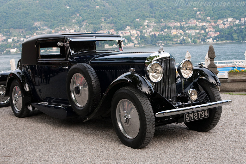 1931 bentley 8 litre gurney nutting sportsman coupe for Walter motor truck company
