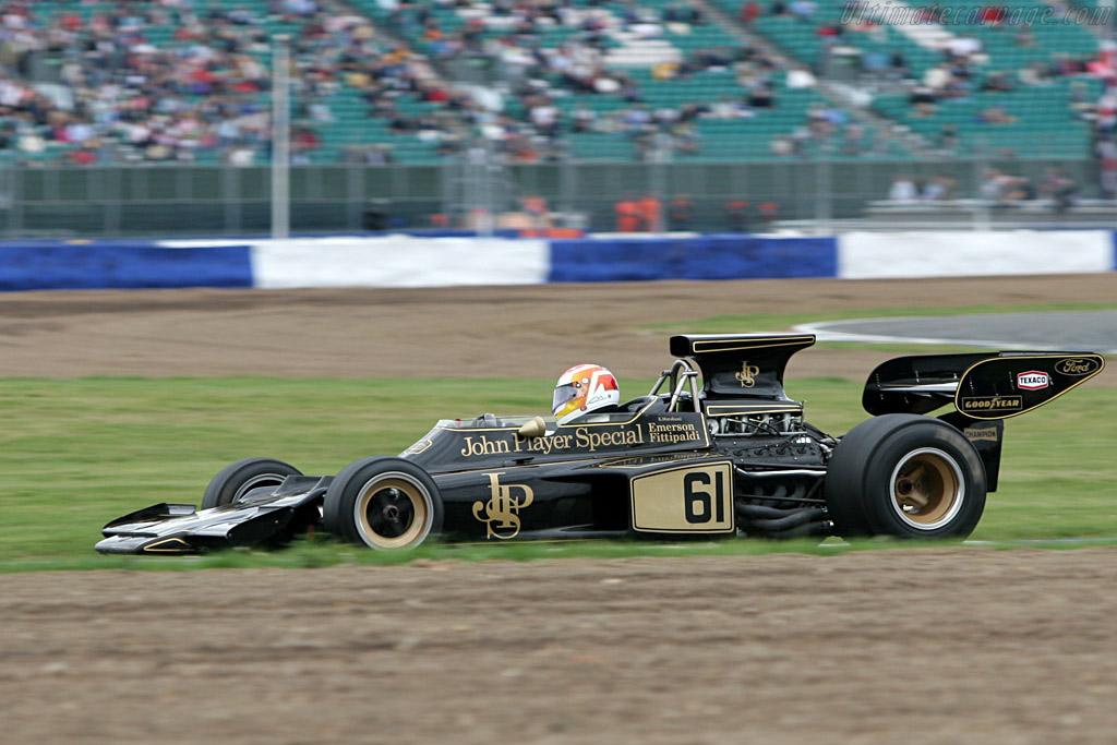 Lotus 72 Cosworth - Chassis: R5-2  - 2005 Silverstone Classic