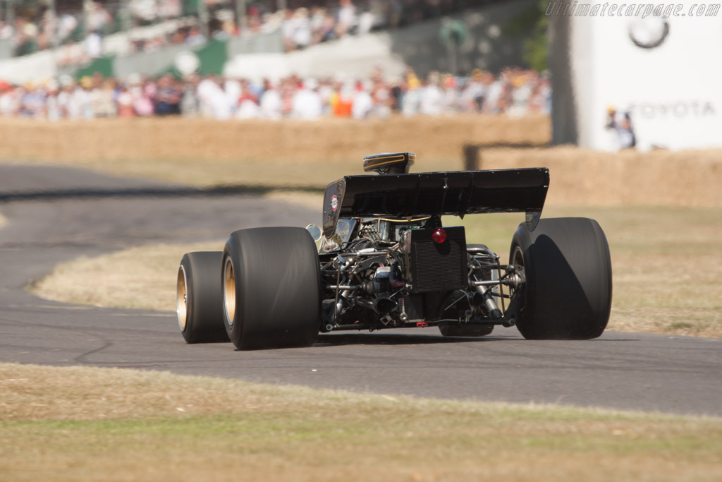 Lotus 72 Cosworth - Chassis: R5-2  - 2010 Goodwood Festival of Speed