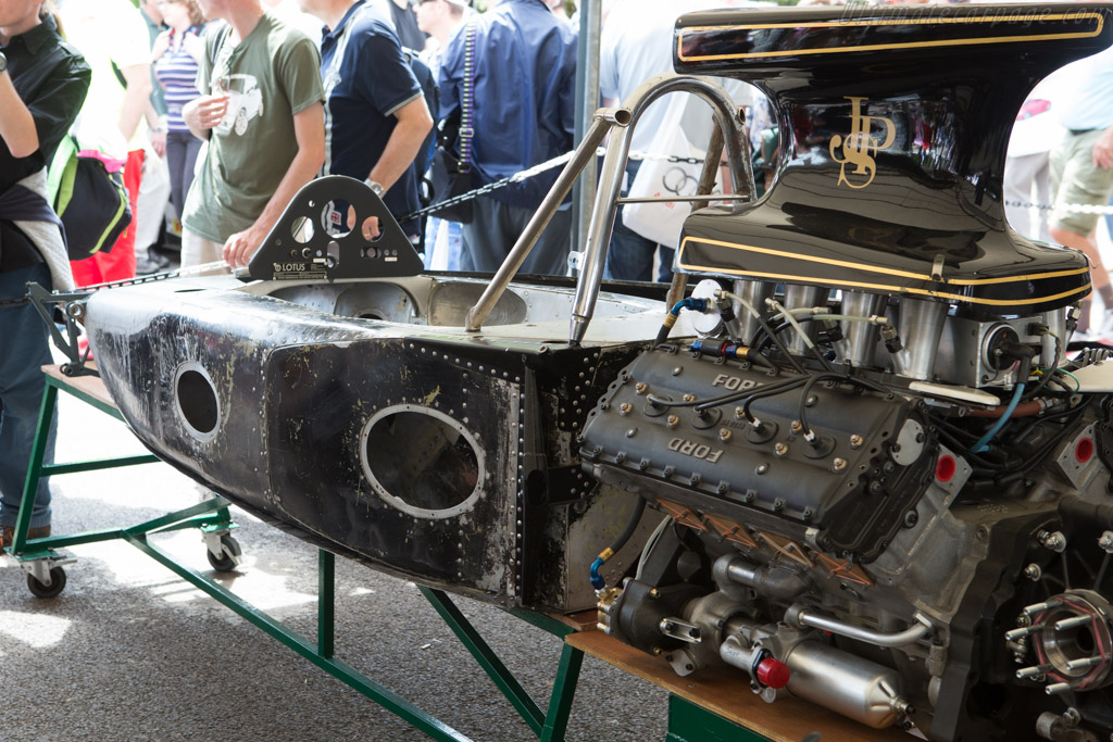 Lotus 72 Cosworth - Chassis: R5   - 2014 Goodwood Festival of Speed