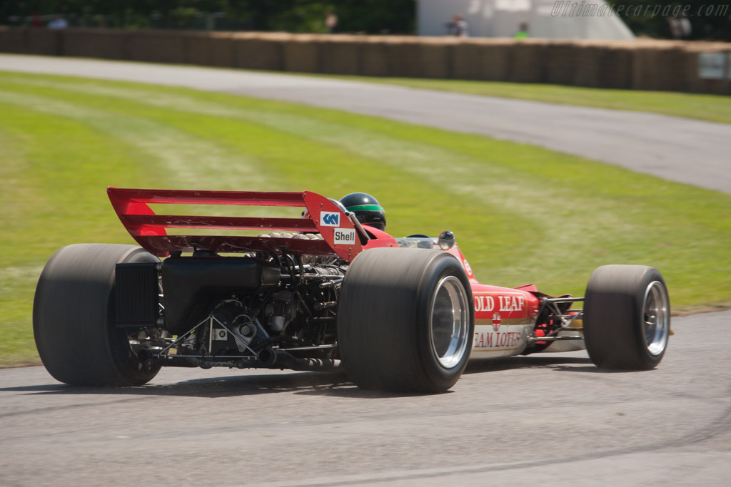 Lotus 72 Cosworth - Chassis: R4   - 2012 Goodwood Festival of Speed