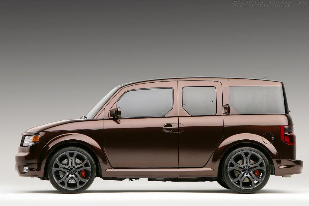 Honda Element Concept >> Honda Element SC Concept