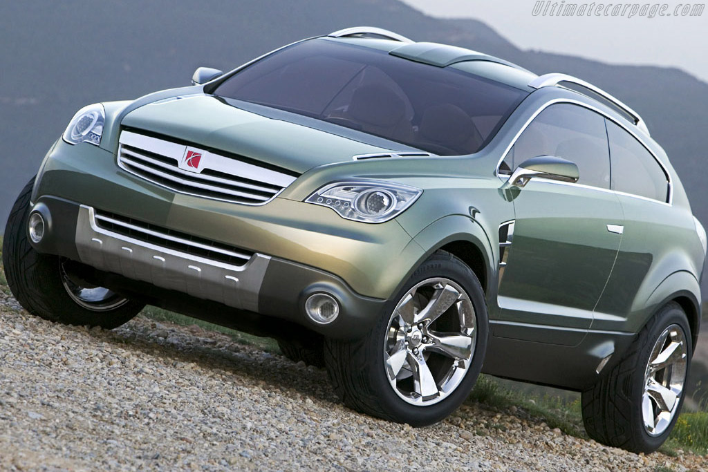 Click here to open the Saturn PreVue Concept gallery