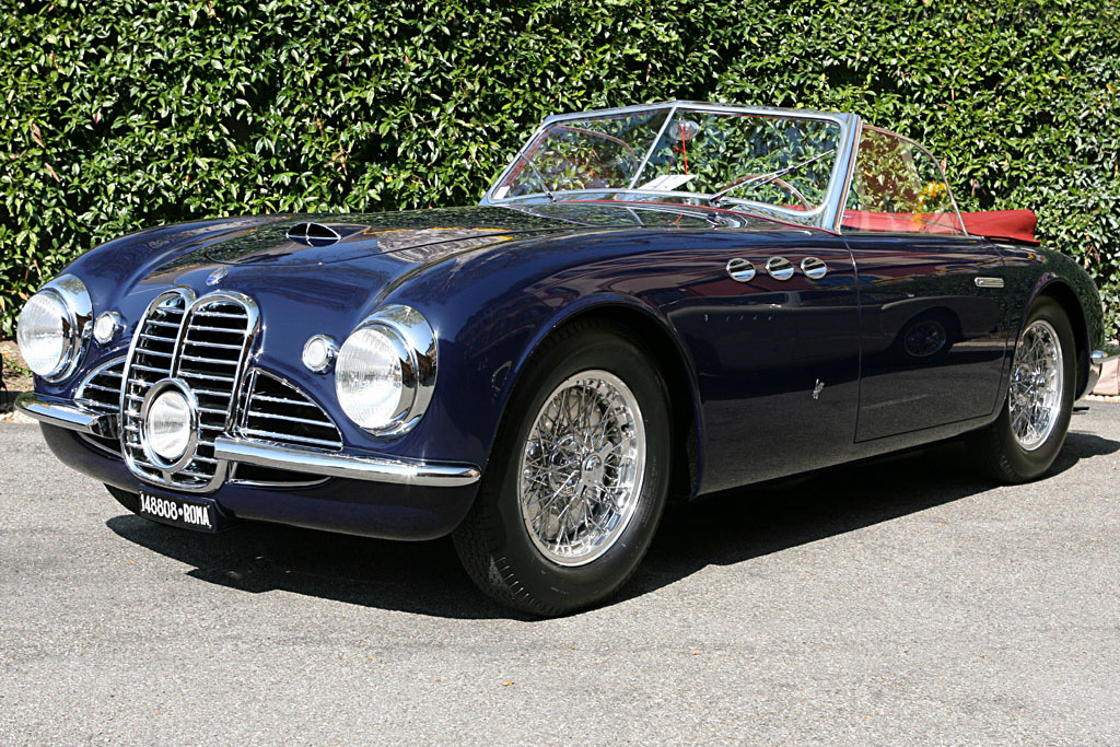 Click here to open the Maserati A6G 2000 Frua Spider gallery