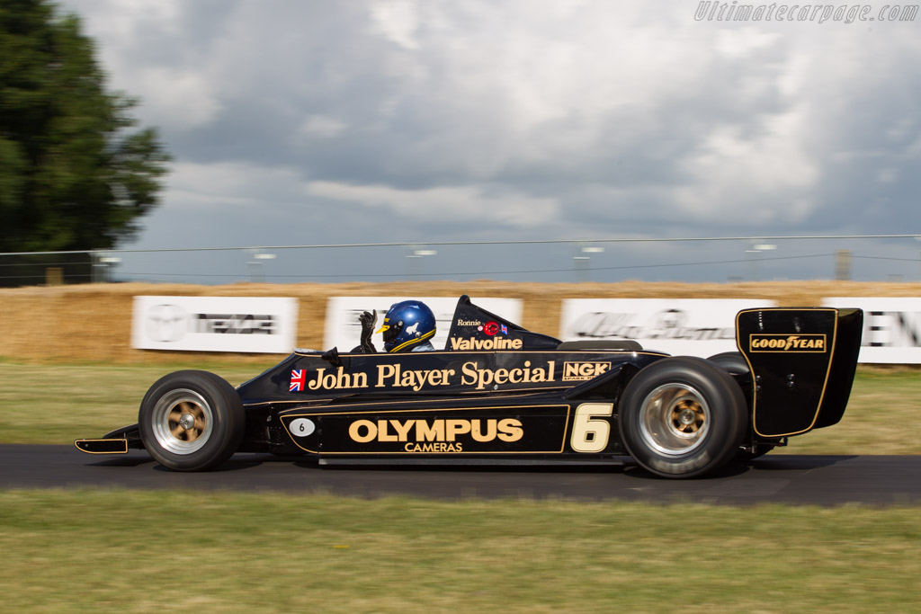 Lotus 79 Cosworth - Chassis: 79/2   - 2014 Goodwood Festival of Speed