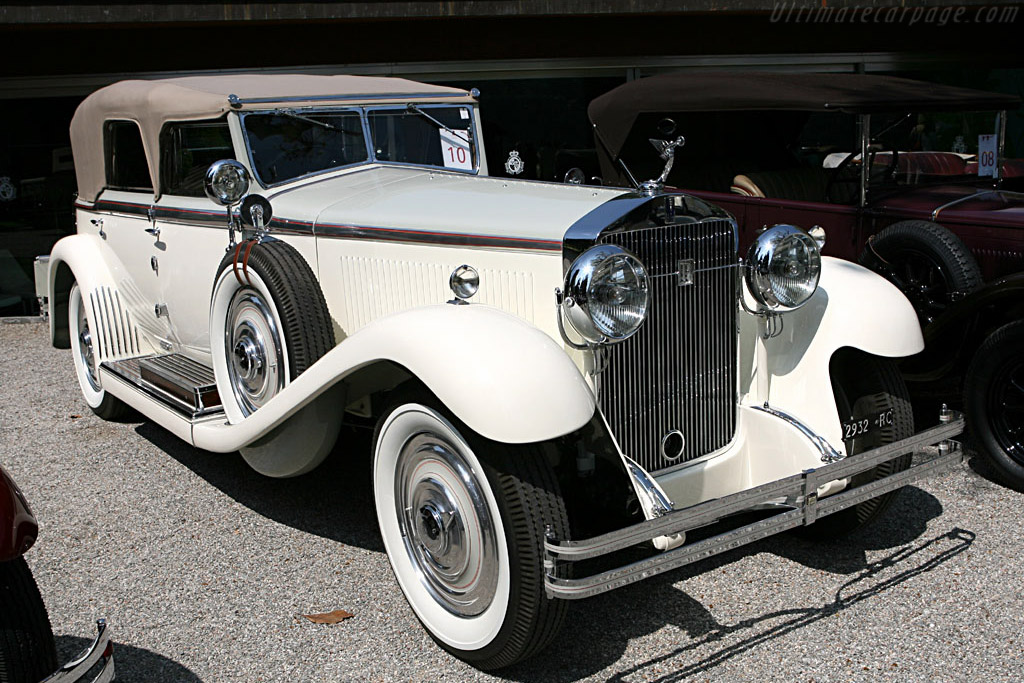 1924 - 1931 Isotta Fraschini 8A SS Castagna Torpedo Sport - Images, Specifications and Information