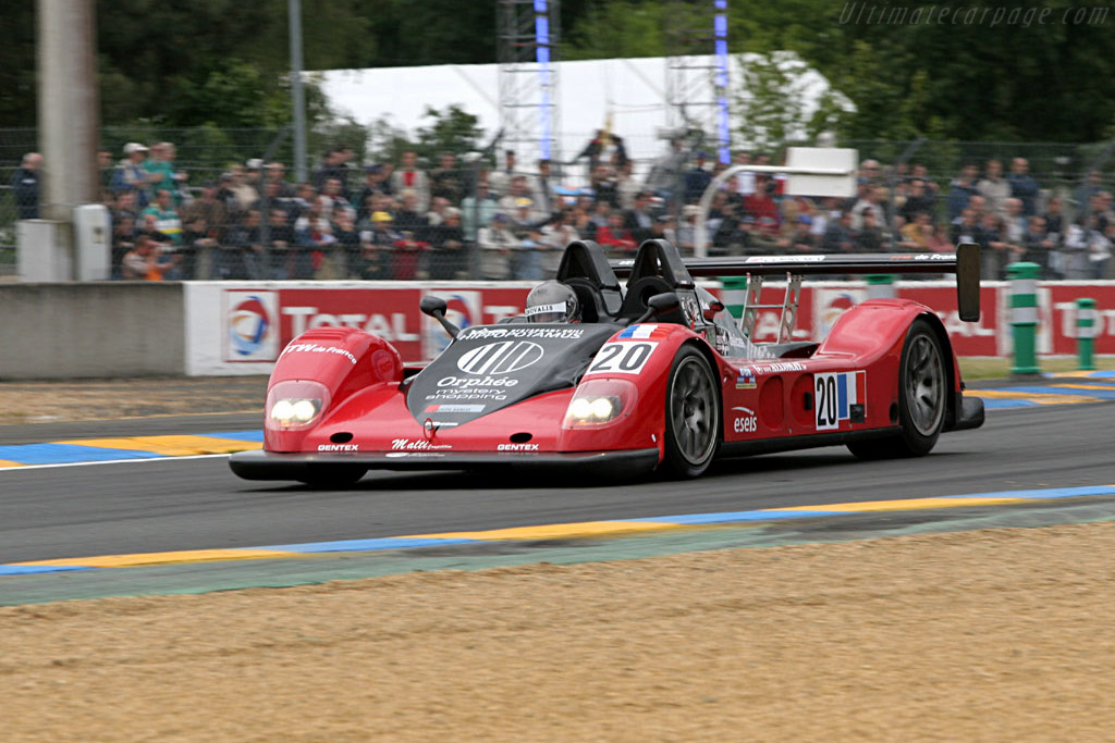 Pilbeam MP93 JPX - Chassis: 01 PB   - 2005 Le Mans Test