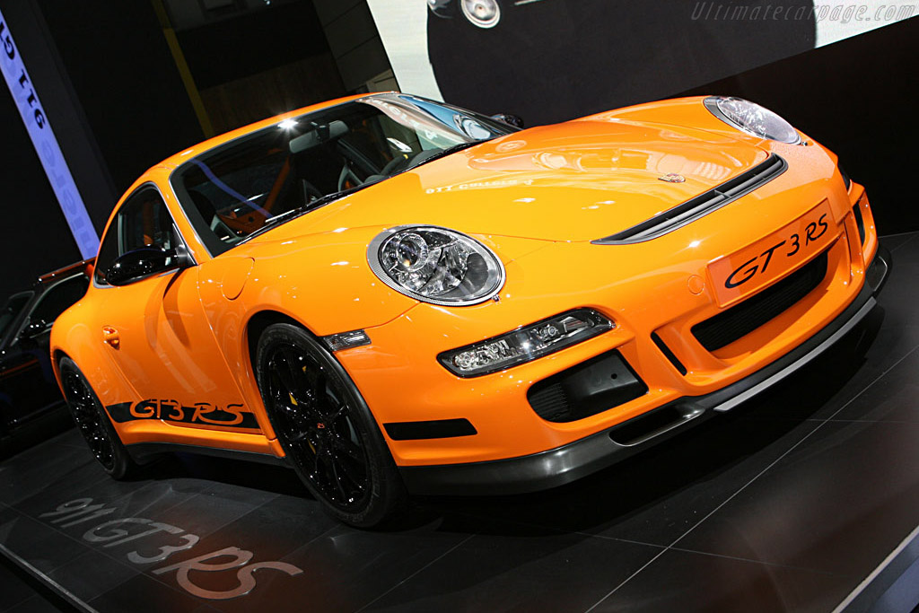 Porsche 997 GT3 RS    - 2006 Mondial de l'Automobile Paris