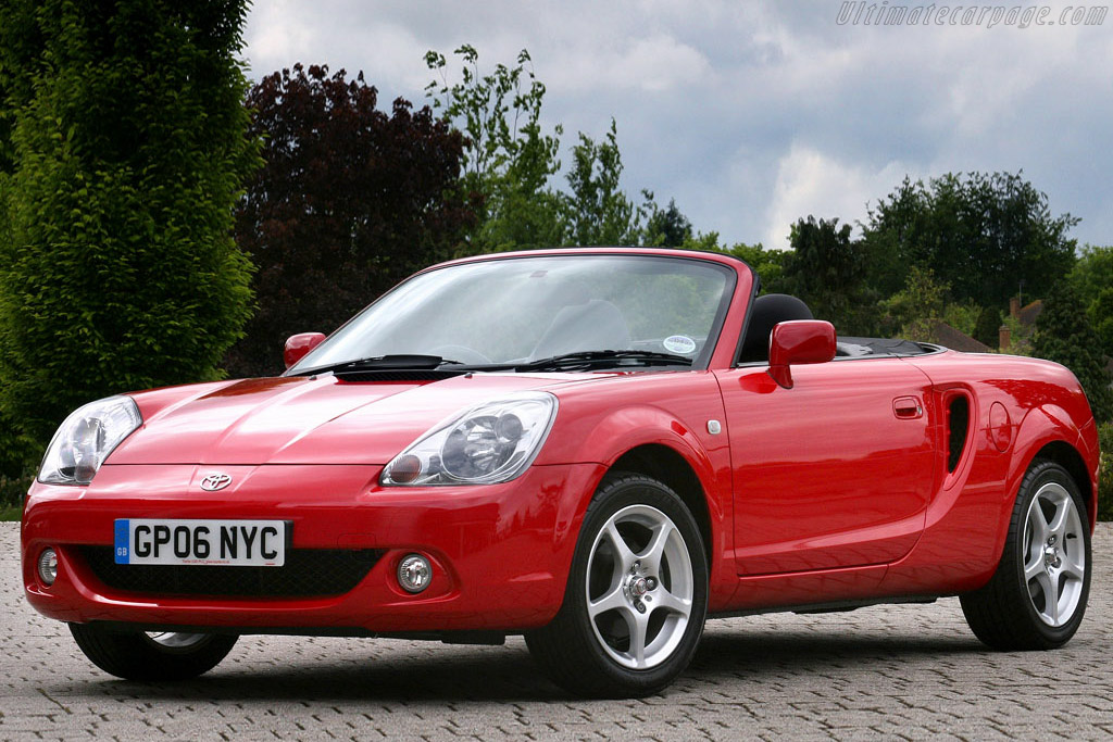 Click here to open the Toyota MR2 Roadster TF300 gallery