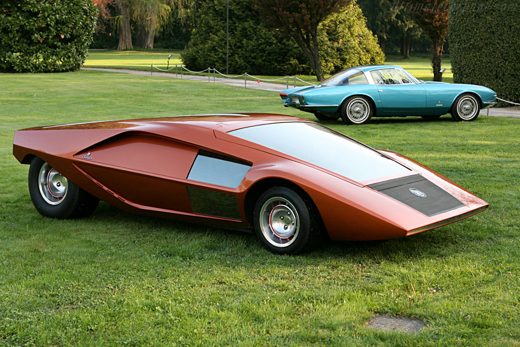 1970 Lancia Stratos Zero Concept Images Specifications