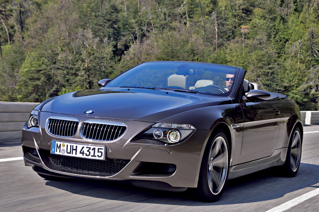 Click here to open the BMW M6 Cabriolet gallery