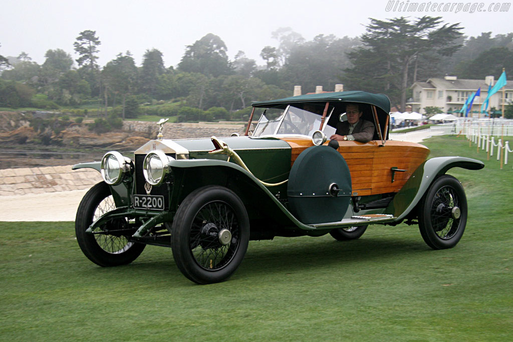 Rolls-Royce Silver Ghost Shapiro-Schebera Skiff - Chassis: 54PB   - 2005 Pebble Beach Concours d'Elegance