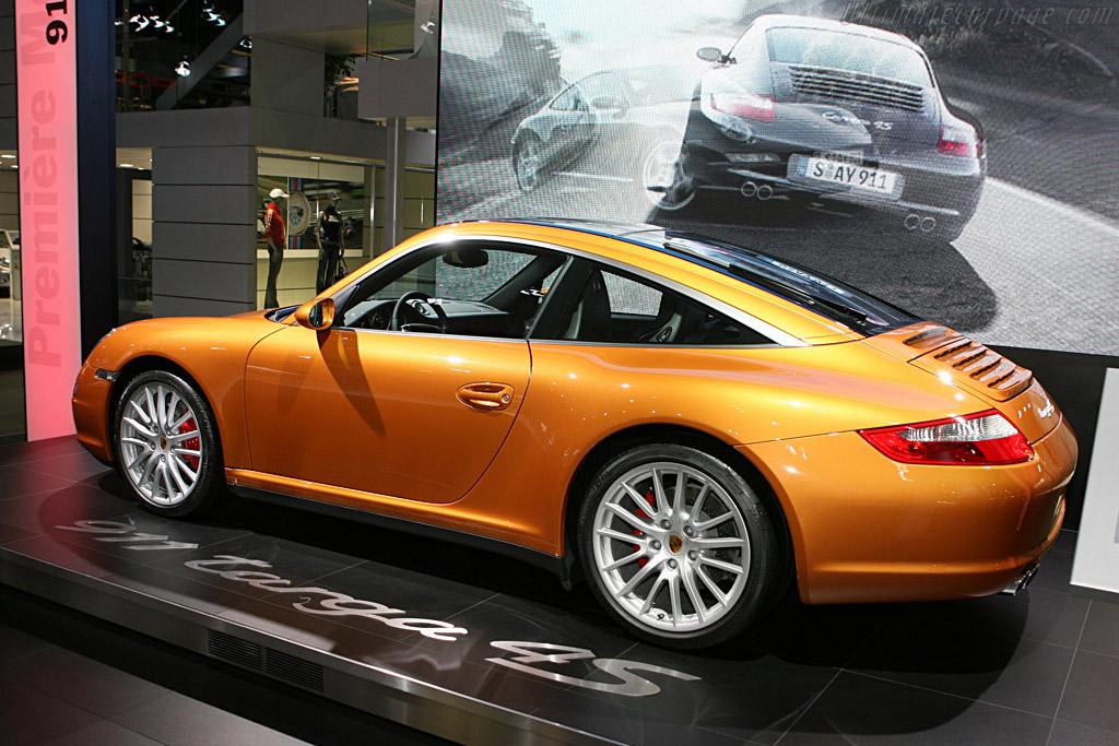 Porsche 997 Targa 4s 2006 Mondial De L Automobile Paris