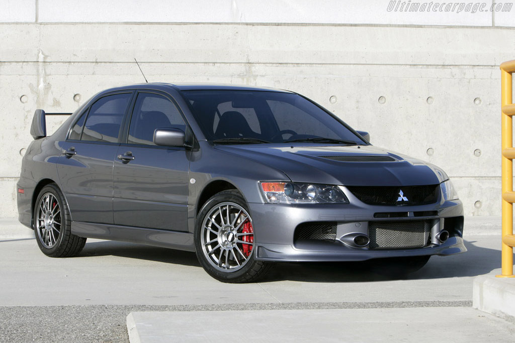 Click here to open the Mitsubishi Lancer EVO IX Special gallery