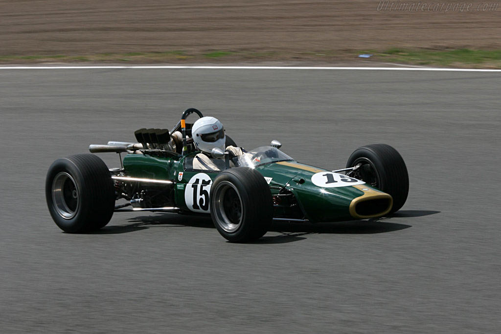 Brabham BT24 Repco - Chassis: BT24-1   - 2006 Silverstone Classic
