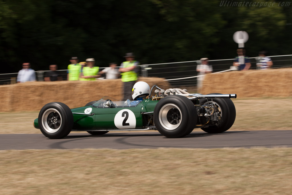 Brabham BT24 Repco - Chassis: BT24-2   - 2013 Goodwood Festival of Speed