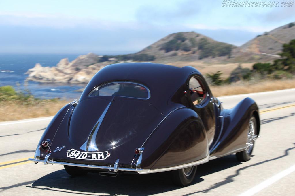 Talbot Lago T150C SS Figoni & Falaschi Teardrop Coupé - Chassis: 90117   - 2007 Pebble Beach Concours d'Elegance