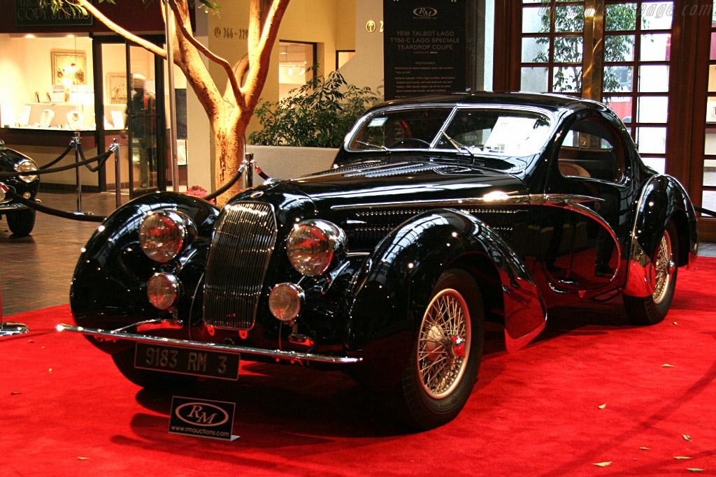 Concours D Elegance >> 1938 - 1939 Talbot Lago T150C S Figoni & Falaschi 'Jeancart' Teardrop Coupé - Images ...