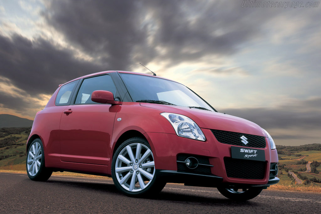 Click here to open the Suzuki Swift Sport gallery