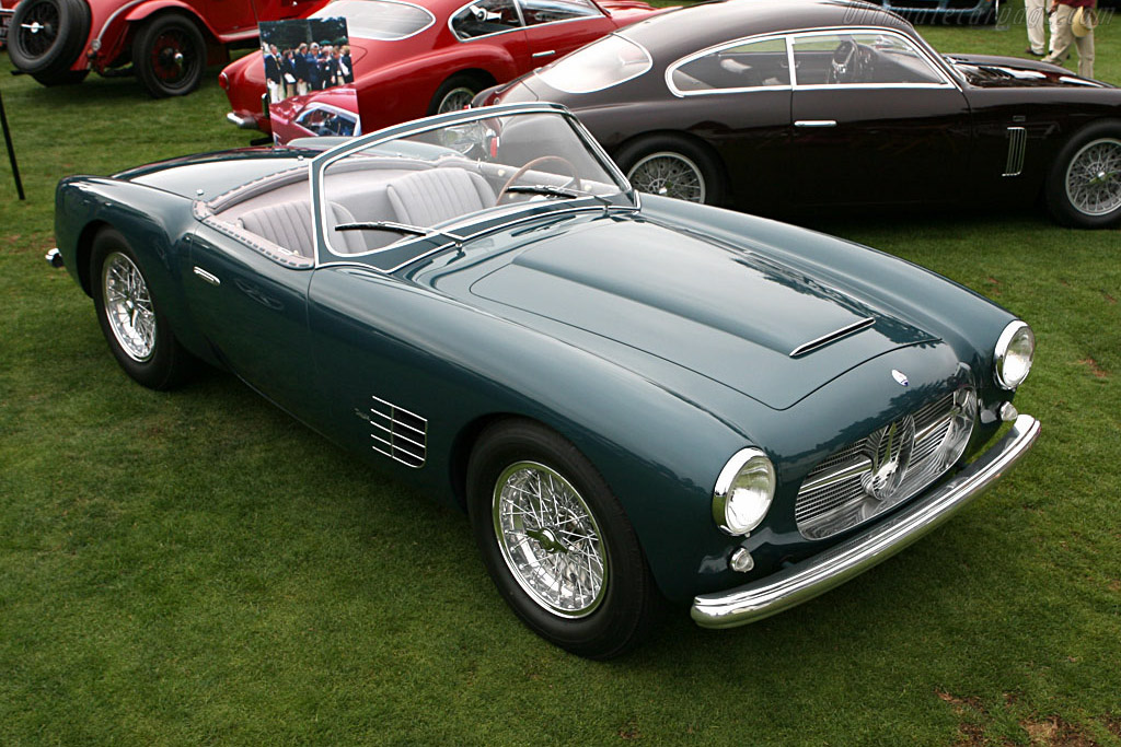 Click here to open the Maserati A6G/54 2000 Zagato Spyder gallery