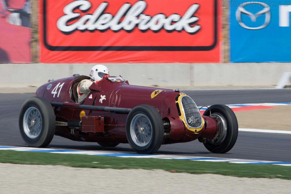 Alfa Romeo 8C 35 - Chassis: 50013   - 2008 Monterey Historic Automobile Races